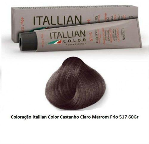 Coloração-Itallian-Color-Castanho-Claro-Marrom-Frio-517