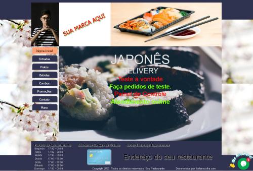 Site-Delivery-Restaurante-Japonês